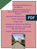 Intervensión Española 1829.