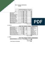 Costos Dm45 y Otros