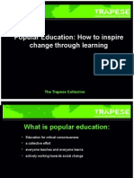 What is Popular Education