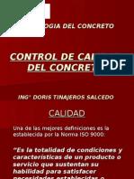 CONTOL DE CALIDAD DEL C°FINAL 2015