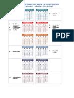 Calendario DEGYM
