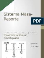 Masa-Resorte en Ecuaciones Diferenciales
