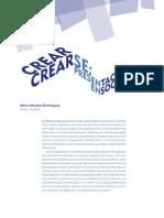 Crear Crearse Espacio Boletin Diseño