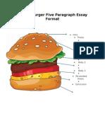 cheeseburger five paragraph essay format