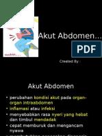 Bedah Digestif - SKD 4A - Akut Abdomen