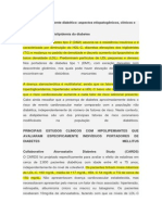 Dislipidemia No Paciente Diabético-Aspectos Etiopatogênicos, Clínicos e Terapêuticos