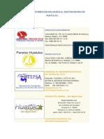 Canales de distribución en Huatulco
