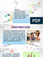 Psicolog Educativa