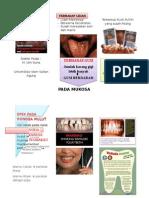 Leaflet Pengaruh Merokok Terhadap Gigi Mulut