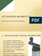 Sistemas de Actuacion Neumatica Valvulas
