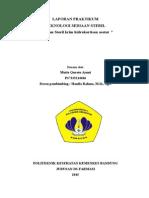 Sediaan Krim Hidrokortison Asetat 0,2%