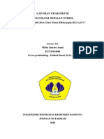 Sediaan Optalmik Pilokarpin 0,45%