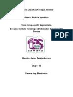 Interpolacion Segmentaria