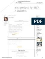 Visual Basic Project for BCA Final Year Student