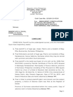 Annulment of Title Complaint