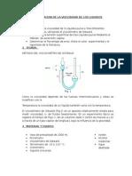 Determinacion de La Viscosidad de Los Liquidos-g