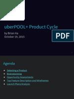 UberPOOL Feature