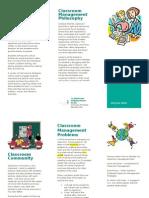 classroom management brochure