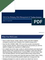 Dubai Oil & Gas Trading, Risk Management & Hedging Seminar