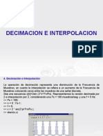 Decimacion e Interpolacion