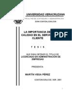 Calidad de Servicio - VegaPerez
