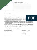Surat Pernyataan Beasiswa