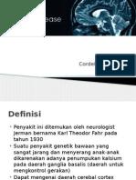 Fahr Disease
