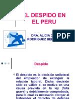 El Despido en El Peru_2