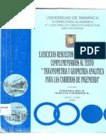 Ejercicios Resueltos de Trigonometria y Complementos Agustin Carrillo