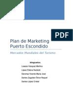 Plan de Marketing Puerto Escondido Entrega Segundo Parcial
