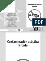 Contaminación acústica y ruido