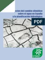 Los efectos del cambio climático sobre el agua en España