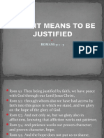 What It Means to Be Justified