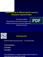 Diferenciacion Sexual- Hiperplasia Adrenal Congenita