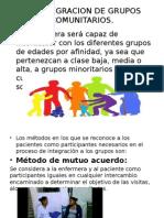 Integracion de Grupos Comunitarios