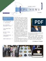 CPL News Volume2 ; Issue3