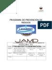 Programa Prevención de Riesgos Lavarent