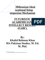 FAIR Educational Theory by Khalid Rehman Khan