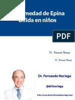 Enfermedad de Epina Bifida en niños