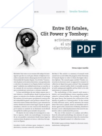 Entre DJ fatales, Clit Power y Tomboy