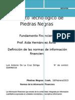 Normas de la informacion financiera.docx