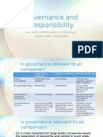 Governance and Responsibility - Lecture 2