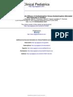Antipyretic Efficacy of Acetaminophen Versus Alternated With Ibuprofen in Children
