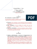 Economia política 1 critérios