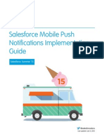 Salesforce Mobile Push Notifications Implementation