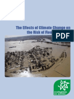 The Effects of Climate Change on the Risk of Floods in Spain