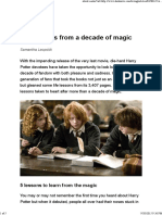 Life Lessons From a Decade of Magic
