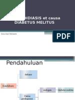 Kandidiasis Et Causa Diabetus Melitus