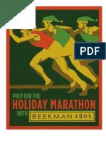 Beekman 1802 Holiday Marathon Vintage Signs
