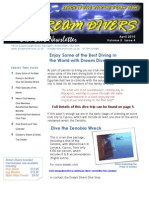 Dream Divers April 2010 Newsletter